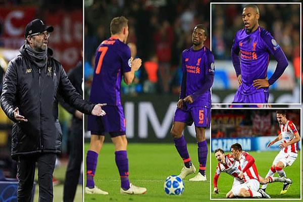 Liverpool thua sốc sao đỏ
