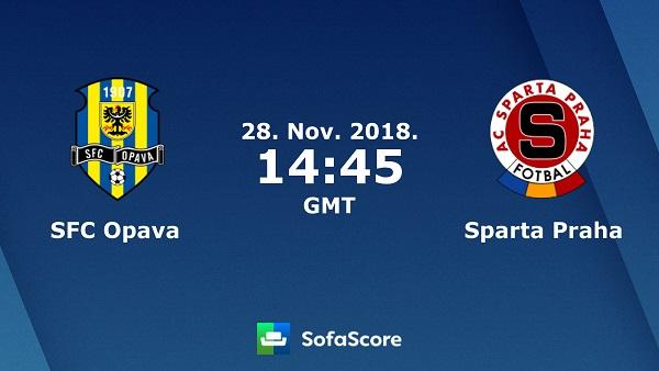 Nhận định Opava vs Sparta Praha