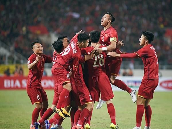 ĐT Việt Nam thăng tiến 3 bậc trên Bảng Xếp Hạng FIFA