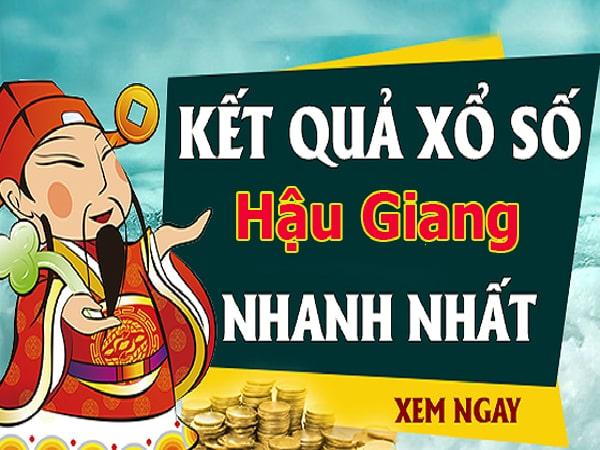 Soi cầu XS Hậu Giang chính xác thứ 7 ngày 14/12/2019