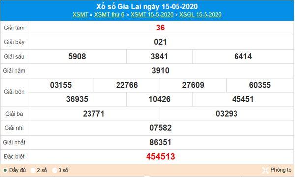 Soi cầu KQXS Gia Lai 22/5/2020 thứ 6 nhanh và chuẩn xác nhất