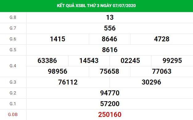 Cùng soi cầu dự đoánxổ số Bạc Liêu 14/7/2020 thứ tư chính xác cùng với việc phân tích thống kê soi cầu XSBL của ngày hôm qua