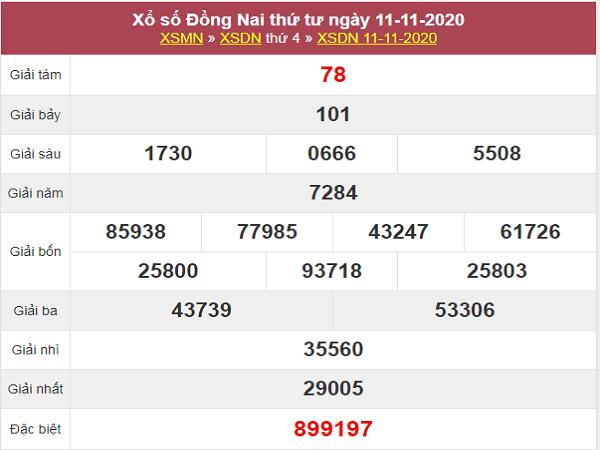 Soi cầu XSDN ngày 18/11/2020- xổ số đồng nai chuẩn xác
