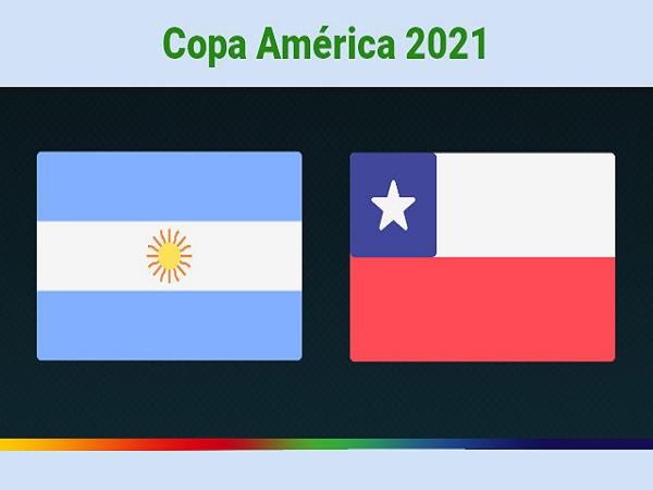 Soi kèo Argentina vs Chile – 04h00 15/06/2021, Copa America