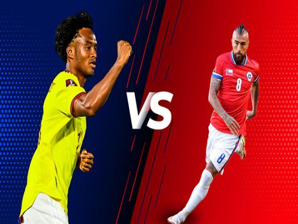 Nhận định tỷ lệ Colombia vs Chile, 06h00 ngày 10/9 - VL World Cup 2022